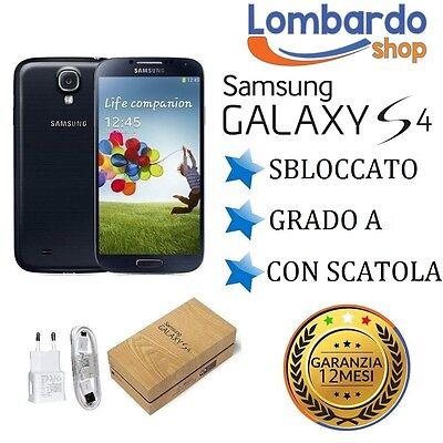 SAMSUNG GALAXY S4 I9505 16GB NERO GRADO A RIGENERATO RICONDIZIONATO USATO