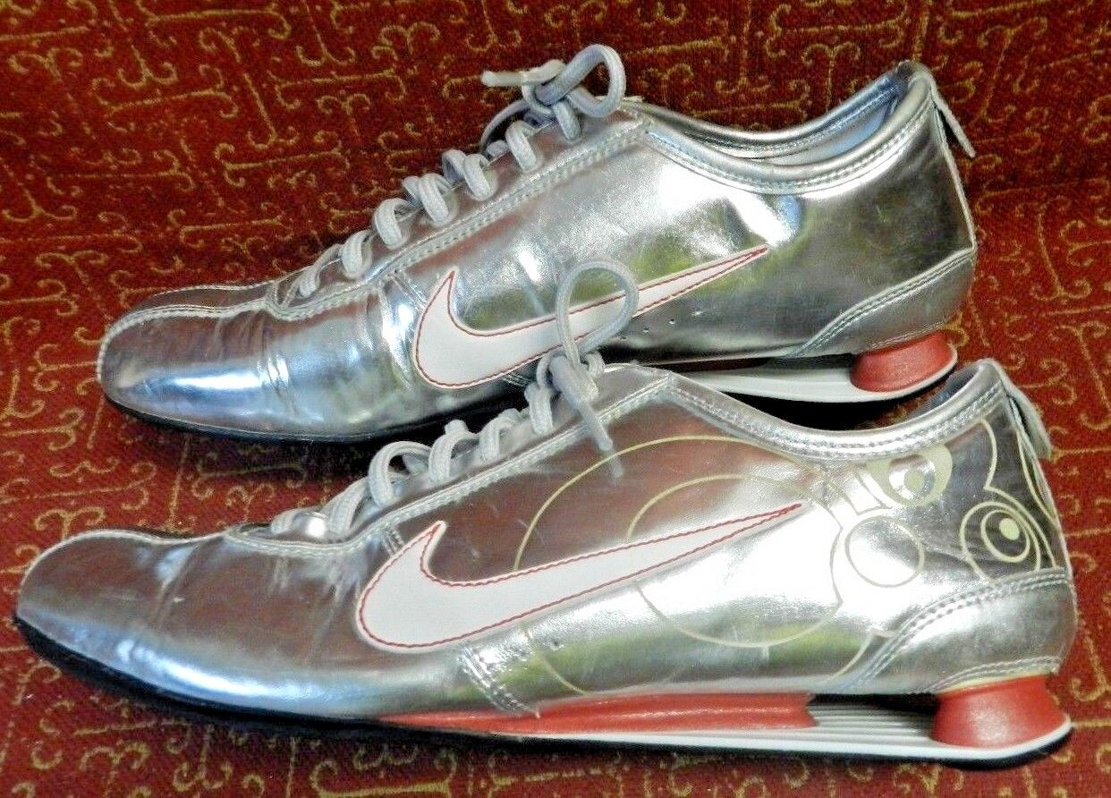 RARE! 2007 NIKE Z EUROPEAN LIQUID MERCURY MEN'S SHOES US.11 New shoes for men and women, limited time discount