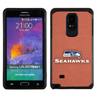 Seattle Seahawks Nfl Samsung Galaxy Note 4 Pebble Grain Feel Case
