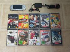 Sony PSP Silber mit 10 Gratis Spiele + Zubehörpaket (2004)