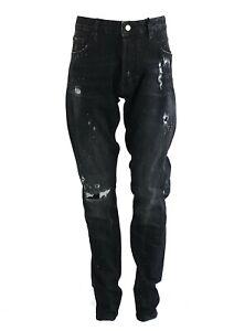 Men S Dsquared2 Cool Guy Black Jeans Dsquared2 Designer Jeans S74lb0489 Ebay