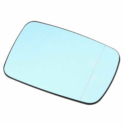Car Door Wing Mirror Glass Blue Heated Right For BMW E46 Coupe E65 Sedan 01-08