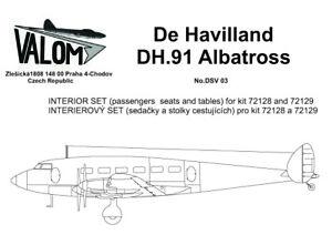 Valom-DSV03-1-72-Resin-de-Havilland-DH-91-Albatross-Interior-set