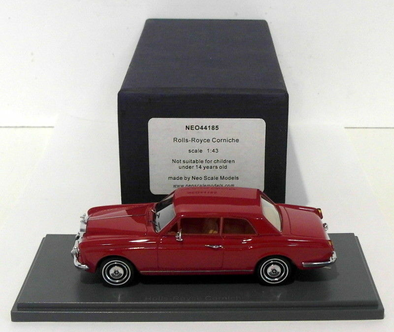 NEO 1 43 Scale Resin Model NEO44185 - Rolls Rolls Rolls Royce Corniche - Red ef809f
