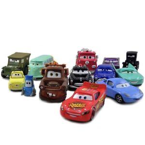 Disney Pixar Cars Pack of 13 Radiator Springs 1:55 Diecast Model Cars Toys Loose