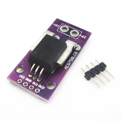 ACS758LCB-050B-PFF-T Hall Current Sensor Current Module Board