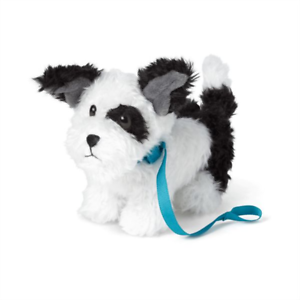 American Girl Pet Animal Melody/'s Dog Bo Black /& White Puppy With Collar NIB