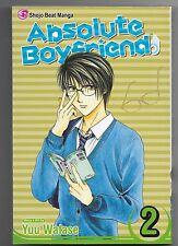 Absolute Boyfriend, Vol. 2 by Yuu Watase (2006, Paperback)