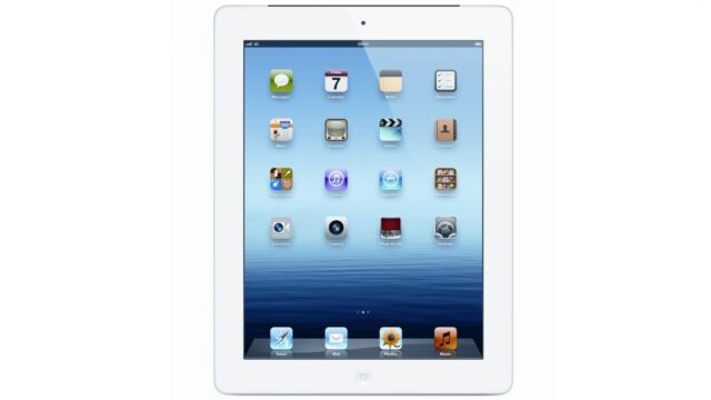 Apple iPad 4th Gen. 32GB, Wi-Fi + Cellular (Verizon), 9.7in - White (MD526LL/A)