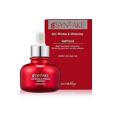 [SECRET KEY]  Synake Anitwrinkle & Whitening Ampoule 30ml / Korean cosmetics