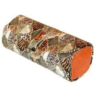 5e680f27a1e0d Image is loading Travel-Jewelry-Roll-Organizer-Leopard-Print