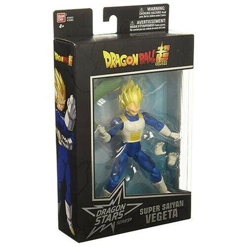 Series 1 Dragon Ball Stars Super Saiyan Vegeta Action Figure