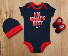 4f03992e2 item 1 Nike Baby Boy 3 Piece Hat, Bodysuit & Booties Set ~ Navy Blue, Red &  White ~0-6M -Nike Baby Boy 3 Piece Hat, Bodysuit & Booties Set ~ Navy Blue,  Red ...