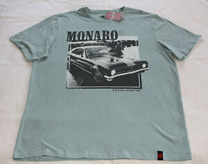 Holden-Mens-HT-GTS-Monaro-Printed-Short-Sleeve-T-Shirt-Size-5XL-New
