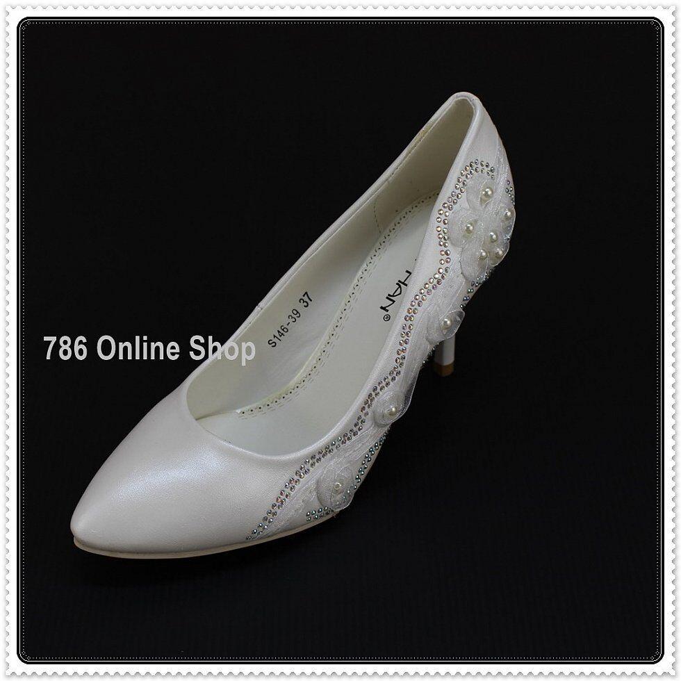 Zapatos De Novia Mujer Tacones (145b) Único gran diseño NUEVO ae03a8 ... 20ed3f346b8f