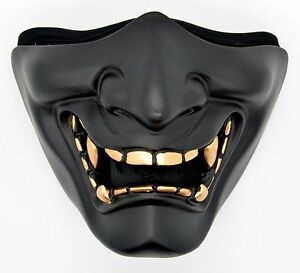 Samurai Half Face Mask Ski Motorcycle Bike Snowboard Costume Party M04 Ebay