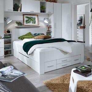 Details Zu Bett Isotta Bettanlage Bettgestell Komfortbrett Für Jugendzimmer In Weiß 140x200
