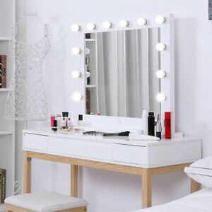 Hollywood 32 Quot Lighted Vanity Mirror W 13 Led Table Top
