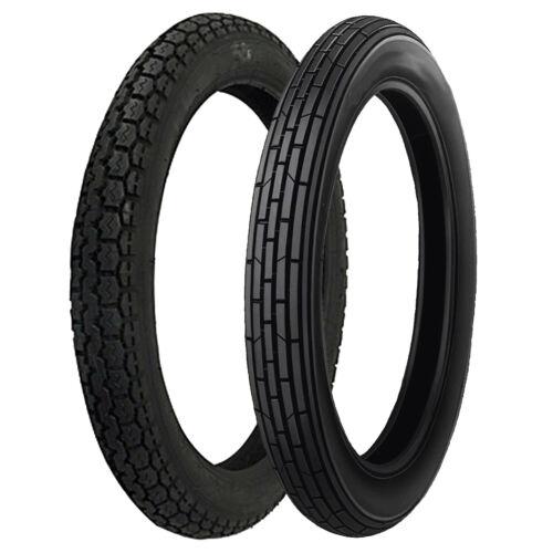 CZ 180 2.75-18 /& 3.00-18 Vee Rubber Motorcycle Tyre Pair