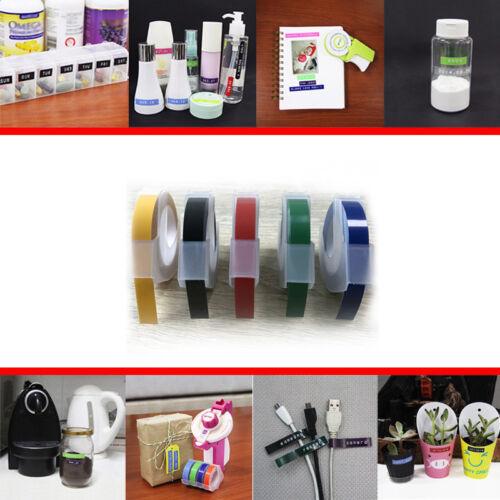 Label Maker Embossing Nachfüllband für DYMO 12813 12814 1610 1540 1535 1575