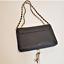 thumbnail 3 - Bebe Black Crossbody Purse Gold Hardware Handbag