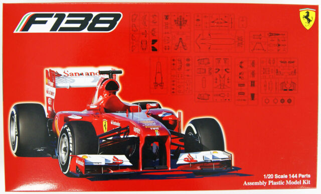 Fujimi GP16 Ferrari F138 China GP 1/20 scale kit
