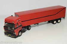 LION CAR BASED DAF 3600 SPACECAB SA-TRANS TRUCK WITH TRAILER RARE