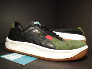 los angeles 6e6ef 8be22 Details about PUMA GV SPECIAL SE BLACK RIFLE OLIVE GREEN RIBBON RED WHITE  BLACK 344596-01 Sz 8