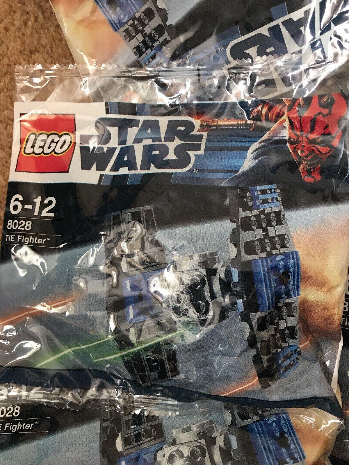 LEGO 8028 STAR WARS TIE FIGHTER New Sealed Polybag joblot   bundle x25