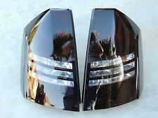 CUSTOM! 05-07 Chrysler 300C Smoked Tail Lights OEM Tinted V8 Black non led paint