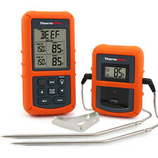 ThermoPro Wireless Remote Digital Meat Thermometer For Smoker Grill Oven BBQ