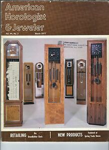 MF-098 - American Horologist & Jeweler Magazine March 1977, Longines Wittnauer