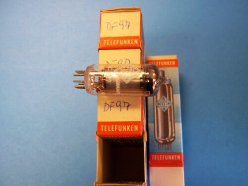 NIB//NOS Germany 1AF4 5 available 1 Vacuum Tubes    DF97 TELEFUNKEN