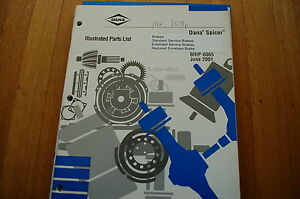Dana Spicer Transmission Service Manual model 6041 4-Speed auxiliary