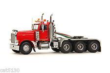 """Peterbilt 379 Truck Tractor - """"RED"""" - 1/50 - WSI #34-1002"""