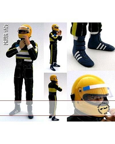 1 12 DRIVER SENNA SECURING HELMET for MINICHAMPS LOTUS 97T