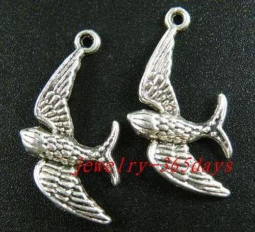 Tibetan Silver Bird//Crabe//Canard//Gecko//Paon//Tortue//Pigeon etc Charms