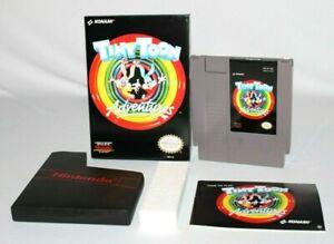Tiny-Toon-Adventures-NES-Nintendo-Complete-CIB-AMAZING-CONDITION-COLLECTORS
