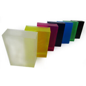Clear-SOAP-BASE-Melt-amp-Pour-Colours-Bars-See-Through-Scented-Unscented-UK-STOCK