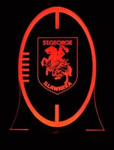 Dragons-Football-Rugby-League-LED-13-Colour-Change-Remote-Night-Light-Room-Lamp