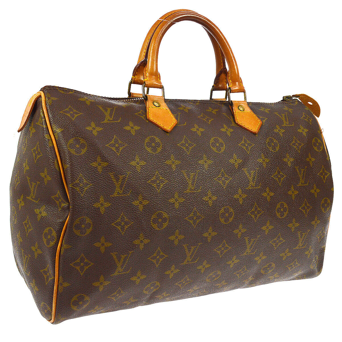 Louis Vuitton Sdy 35 Hand Bag 831sa Purse Monogram M41524 Authentic A45646