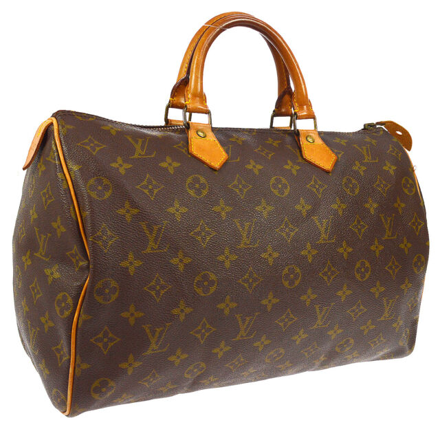 Louis Vuitton Sdy 35 Hand Bag 831sa Purse Monogram M41524 Authentic A45646