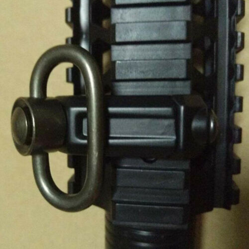 Quick release QD mount sling swivel for seperating alloy buc GVUS