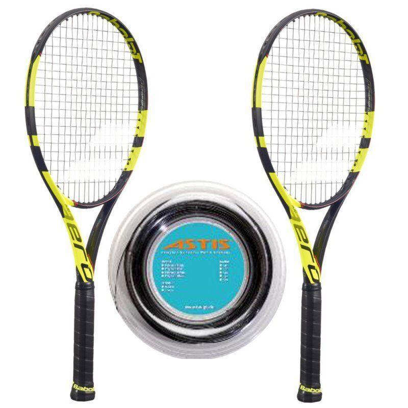 Babolat Pure Aero Tour x 2 + + + 200 m-Rolle Griff L3 4 3 8 Tennis Racquet 044706