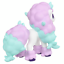 miniature 4 - Pokemon-Figure-Moncolle-034-Galarian-Ponyta-034-Japan