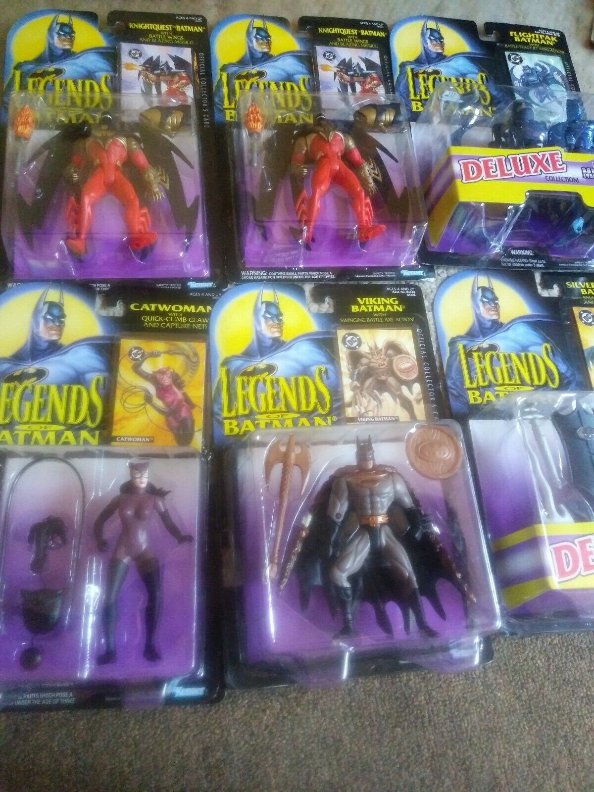 Kenners leyendas de Batman Figura De Acción Colección Serie Lote mixto