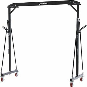 Strongway Adjustable Gantry Crane- 2000-Lb. Capacity