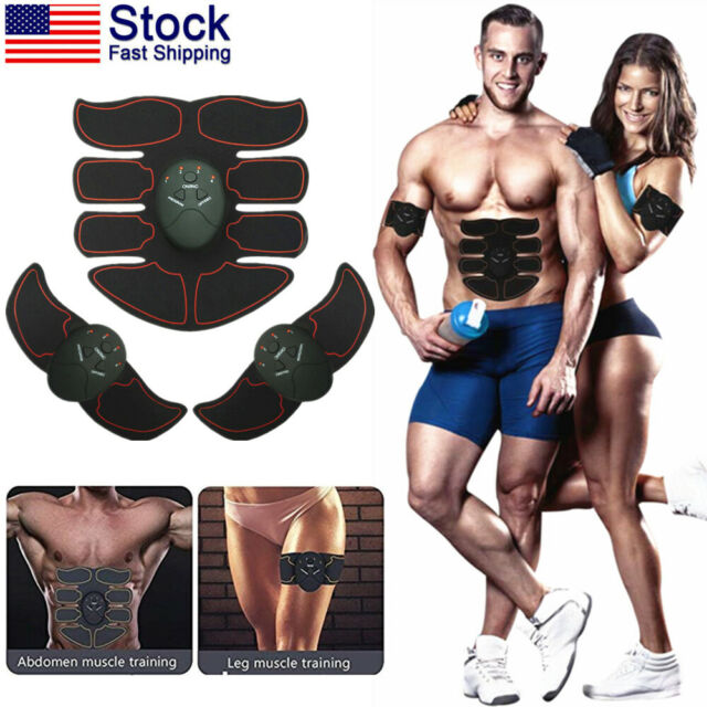 Ultimate EMS Abdomen Arms Muscle Simulator ABS Training Home Abdominal Trainer