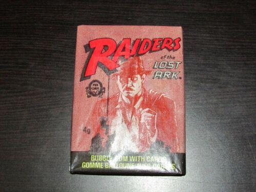 1981 OPC O-Pee-Chee Indiana Jones Raiders of the Lost Ark Unopened Wax Pack CC15