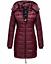 Indexbild 41 - Marikoo Damen Herbst Winter Jacke Stepp Mantel FVS4 Parka Steppjacke lange Neu